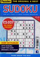 Puzzler Sudoku Magazine Issue NO 211