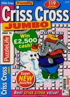Family Criss Cross Jumbo Magazine Issue NO 94