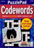 Puzzlelife Ppad Codewords Magazine Issue 54