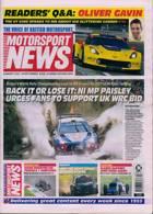 Motorsport News Magazine Issue 14/01/2021