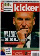 Kicker Montag Magazine Issue 01