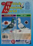 British Homing World Magazine Issue NO 7560