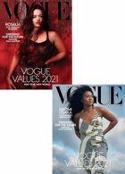 Vogue Usa Magazine Issue JAN 21