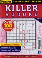 Puzzler Killer Sudoku Magazine Issue NO 181