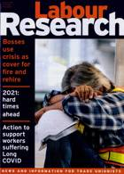 Labour Research Magazine Issue 01