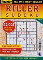 Puzzler Killer Sudoku Magazine Issue NO 180