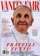 Vanity Fair Italian Magazine Issue NO 21002/3