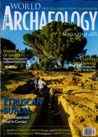 Current World Archaeology Magazine Issue FEB-MAR
