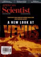 American Scientist Magazine Issue JAN-FEB