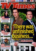 Tv Times England Magazine Issue 30/01/2021