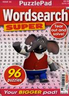 Puzzlelife Wordsearch Super Magazine Issue NO 36