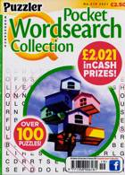 Puzzler Q Pock Wordsearch Magazine Issue NO 219