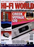 Hi Fi World & Comp Audio Magazine Issue MAR 21