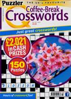 Puzzler Q Coffee Break Crossw Magazine Issue NO 103