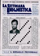 La Settimana Enigmistica Magazine Issue N4636