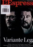 L Espresso Magazine Issue NO 9