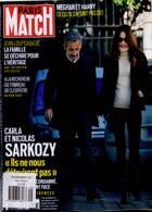 Paris Match Magazine Issue NO 3749