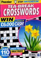 Puzzler Tea Break Crosswords Magazine Issue NO 303