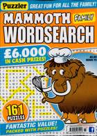 Puzz Mammoth Fam Wordsearch Magazine Issue NO 73