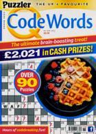 Puzzler Q Code Words Magazine Issue NO 469