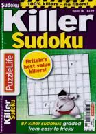 Puzzlelife Killer Sudoku Magazine Issue NO 18