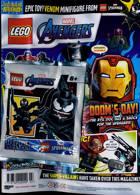Lego Superhero Legends Magazine Issue AVENGERS 4