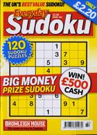 Everyday Sudoku Magazine Issue NO 184