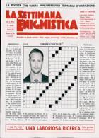 La Settimana Enigmistica Magazine Issue NO 4644