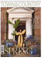 Town And Country Magazine Issue SPRING