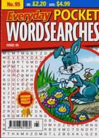 Everyday Pocket Wordsearch Magazine Issue NO 95