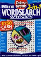Tab Mini 2 In 1 Wordsearch Magazine Issue NO 36