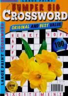 Bumper Big Crossword Magazine Issue NO 142