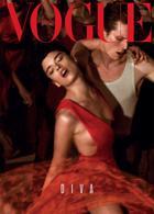 Vogue Portugal - Diva  Magazine Issue RedDress