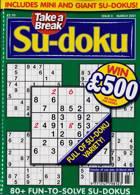 Take A Break Sudoku Magazine Issue NO 3