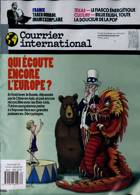 Courrier International Magazine Issue NO 1582