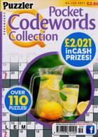 Puzzler Q Pock Codewords C Magazine Issue NO 159