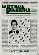La Settimana Enigmistica Magazine Issue NO 4640