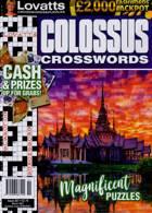 Lovatts Colossus Crossword Magazine Issue NO351