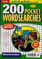 200 Pocket Wordsearches Magazine Issue NO 66