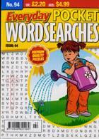Everyday Pocket Wordsearch Magazine Issue NO 94
