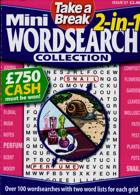 Tab Mini 2 In 1 Wordsearch Magazine Issue NO 37
