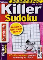 Puzzlelife Killer Sudoku Magazine Issue NO 19