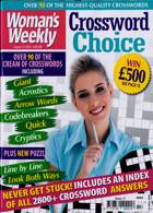 Womans Weekly Crosswo Choice Magazine Issue NO 17