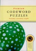 Premium Codeword Puzzles Magazine Issue NO 78