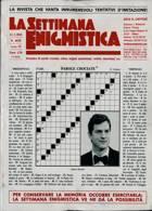 La Settimana Enigmistica Magazine Issue NO 4638