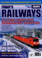 Todays Railways Europe Magazine Issue MAR 21