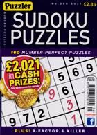 Puzzler Sudoku Puzzles Magazine Issue NO 206