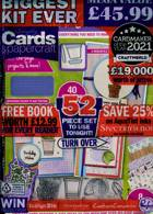 Simply Cards Paper Craft Magazine Issue NO 214