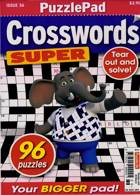 Puzzlelife Crossword Super Magazine Issue NO 36