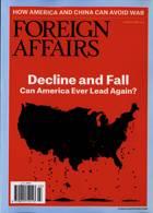 Foreign Affairs Magazine Issue MAR-APR